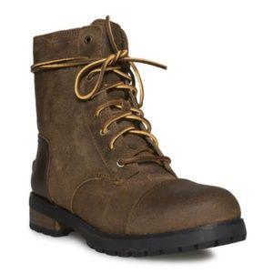 UGG Shoes - UGG KILMER II CHIPMUNK LEATHER SHEEPSKIN BOOTS